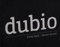 Dubio Typeface