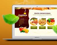 Site Restaurante Cumbuca de Ouro