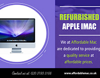 Refurbished Apple imac| 02037803188 | affordablemac.co.