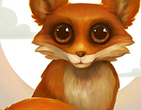 Nursery Critters - Rosy Red Fox