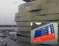 Signage Project: Aéroport de Paris