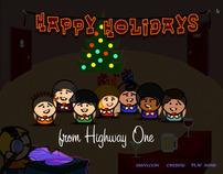 HWY1 Interactive Holiday Card