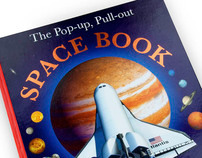 DK Pop-up Pull Out Space Book and Animal Atlas