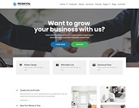 Promotal-marketing agency template