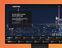 Cryptex Live Website Design