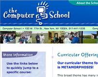 The Computer School Website Design