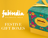 Festive Packaging for Fabindia Personal Care Range