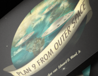 """Plan 9 from Outer Space"" Packaging & Animation"