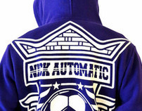 NICK AUTOMATIC SPORTY ZIP-UP HOODIES SERIES