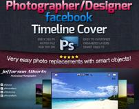 Photographer / Designer Facebook Timeline Cover -Psd