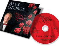 CD Cover Art & Jewel Case Cover — Alex George