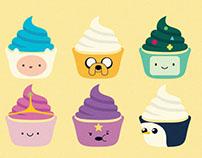 Adventure Time Cupcake