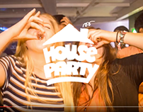 Short social media videos for House Party Clubnight