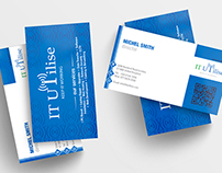IT UIILISE_Corporate Business Card