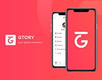 Gtory UI/UX
