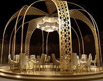 Ramadan decoration - Fourseasons hotel Bahrain 2017