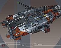 Spaceship Concept Design Batch#1