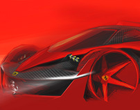 Ferrari F80 lightweight vision