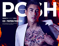 Phupoom PhongPanu - POSH Magazine Thailand August 2016
