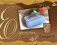 Enspirit Handmade Soaps & Lotions Direct Mailer