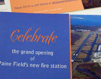 Airport Fire Station Opening Invitation