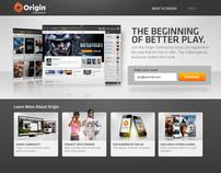 Origin Login & Registration