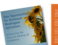 Agriculture Conference Registration brochure