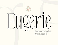 Eugerie – Classic Modern Typeface (Free Download)