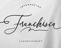 FRANCHISCA LUXURY SCRIPT - FREE FONT