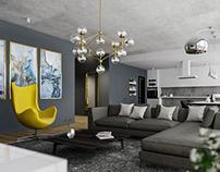Modern Apartment / Interior Design