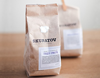 Design of coffee packaging Skuratov