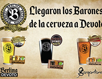 Flyer Cerveza - Sargantana Resto Bar