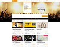 Diseño Web para Tiketing