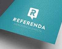 Rediseñno de logotipo para Referenda