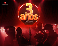 3 Anos Crystal São Luis