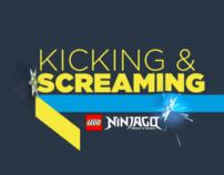 FOUR Ninjago Break Title