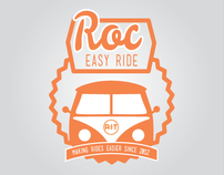 Roc Easy Ride Identity and Branding