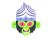 Mojo Jojo Head Design