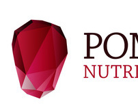 Pomegranate Nutrition Consulting logo design