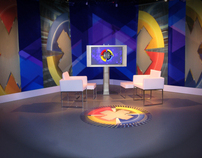 News and Current Affairs TV Set Design
