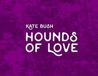 Capa do cd Hounds of Love reimaginada.
