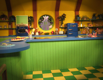 Chidren's TV Studio Set Design