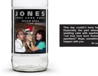 Jones Soda Wedding Favors
