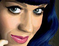 Vector Art - Katy Perry