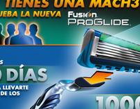 Gillette - App Facebook Fusion Proglide