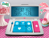 "Pınar ""Kalorimetrem"" Calorie Calculator App"