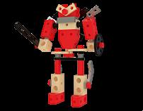 Building Blocks -- Robots.
