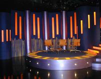 Gaelic TV Set Design (Studio and Location)