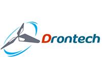 Diseño de logotipo y sitio web www.drontech.cl