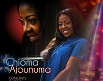 Chioma Ajounuma Debutante Ads 2017